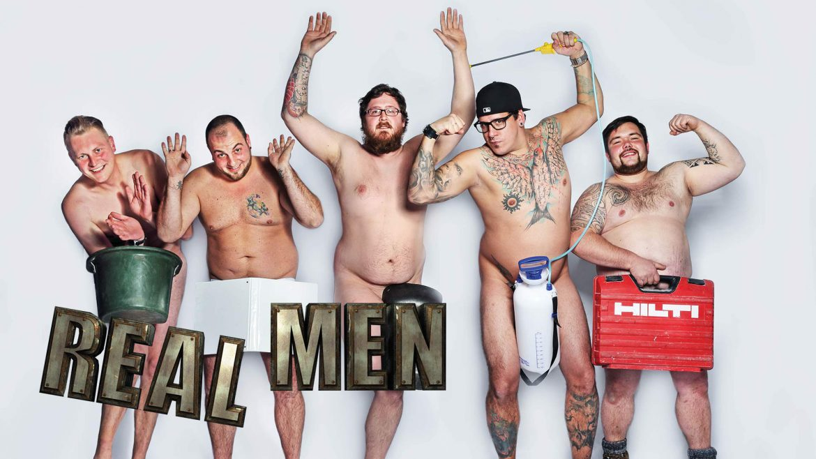 Red Arrow International S Hit New Format Real Men Commissioned By Vox In Germany Red Arrow Studios