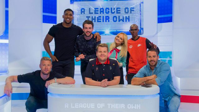 CPL Productions - James Corden, Freddie Flintoff, Jack Whitehall, Jamie Redknapp in A League of their Own: US Roadtrip